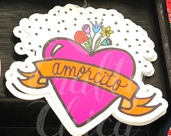 """3"""" Sticker: Amorcito"""
