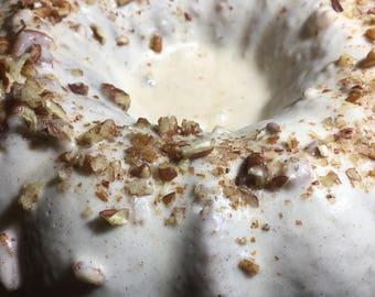 Sinful Cinnamon Roll Bundt Cake