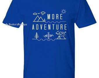 Wanderlust, Camping Shirt, Nature Lover Gift, ADVENTURE T-shirt, PNW Womens Graphic Tees, Mens tshirt, Outdoorsy Hiking tshirt Kayaking Gift