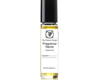 Rose flavour jam -  Perfume oil  - (Gp12 - The Perfume People)