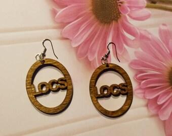 Hoop earrings - LOCS