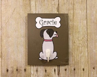 Dog Leash, Dog leash holder, Dog Leash Hook, Dog Leash Hanger, Personalized Dog Leash Holder, Dog Collar Holder, Pet Leash Hook, Pet Rack