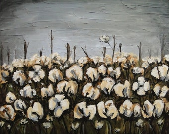 "Custom ""Cotton Field at Dusk"""