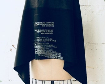 Wool Scarf Printed Text , womenswear scarves accessories aw19, edgy