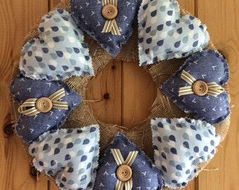 Handmade Fabric Wreaths