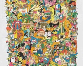 "Cartoon Network 36"" Poster"