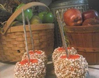 Fake Primtive Caramel Apples (4) - Smells just like caramel apples