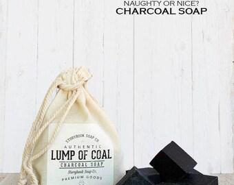 Our Famous Original Lump of Coal Sacks - Charcoal Facial Soap