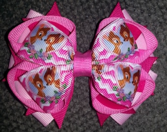Bambi Stacked Boutique Bow