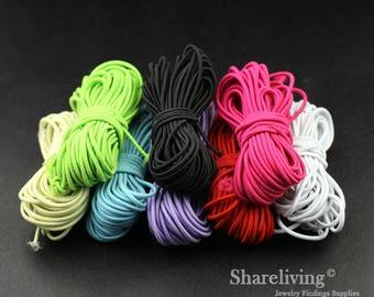 Clearance Sale - 10pcs ( 250 feet) Mixed Color Elastic Cord, Elastic String - CLS001G