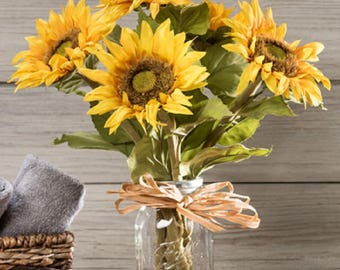 Country Sunflower Arrangement