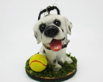 Happy - A Dog Ornament
