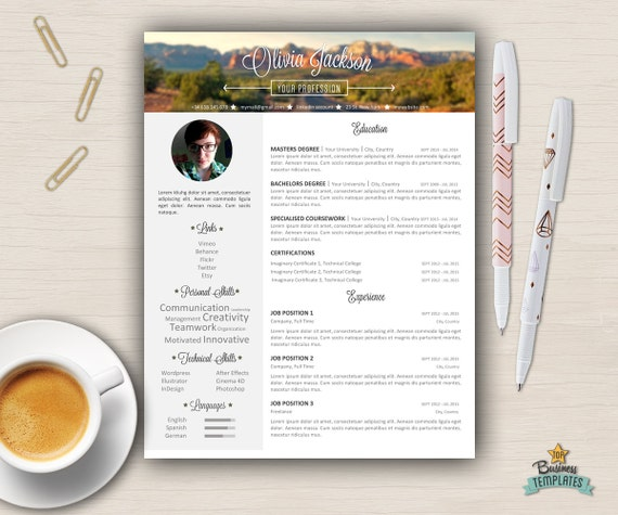 Portfolio Cover Letter: Portfolio Resume Template Cover Letter References / 3