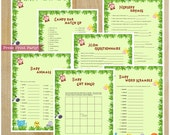 Jungle Baby Shower Games,...
