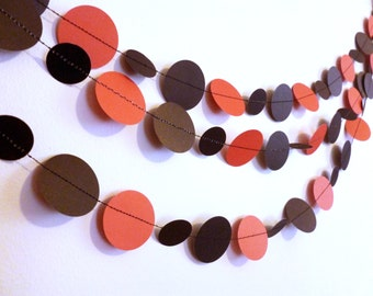 Pirate Birthday Party Decor Black and Red Garland | Pirate Birthday Garland | Pirate Birthday Banner | Red and Black Party