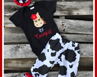 Baby Girl Size 0-3 Mth Country Outfit  FREE SHIPPING