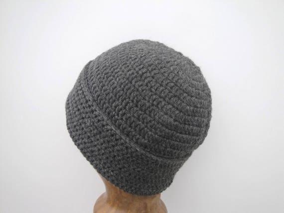 Crochet Watch Cap Pattern, Beanie Hat Easy Crochet Pattern, Worsted ...