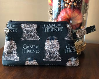 Game of Thrones Wristlet/Clutch