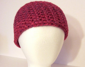 Crochet Hat Pattern: Stria Beanie, Unisex, Flower Pattern Included
