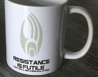 Star Trek - Borg - Resistance is Futile - Mug