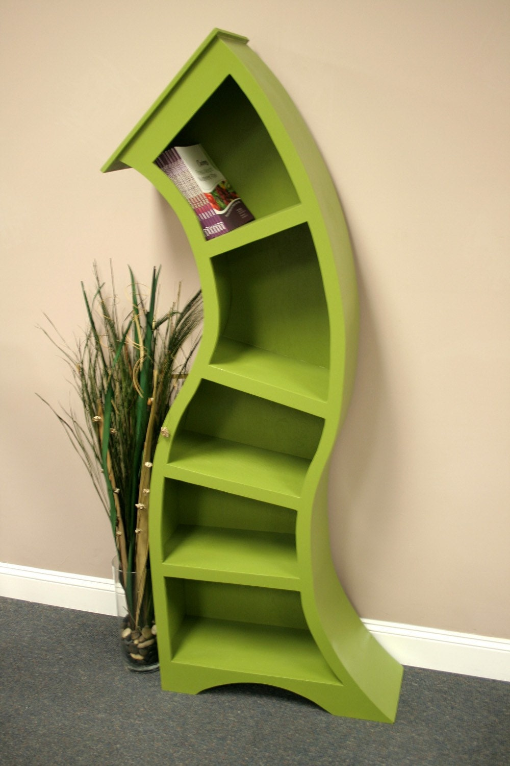 bookcases in bookcase gallery bookshelves view creative curved extremely white designs
