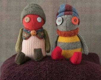 Sweaterdoll Sewing Pattern - a handmade toy pattern