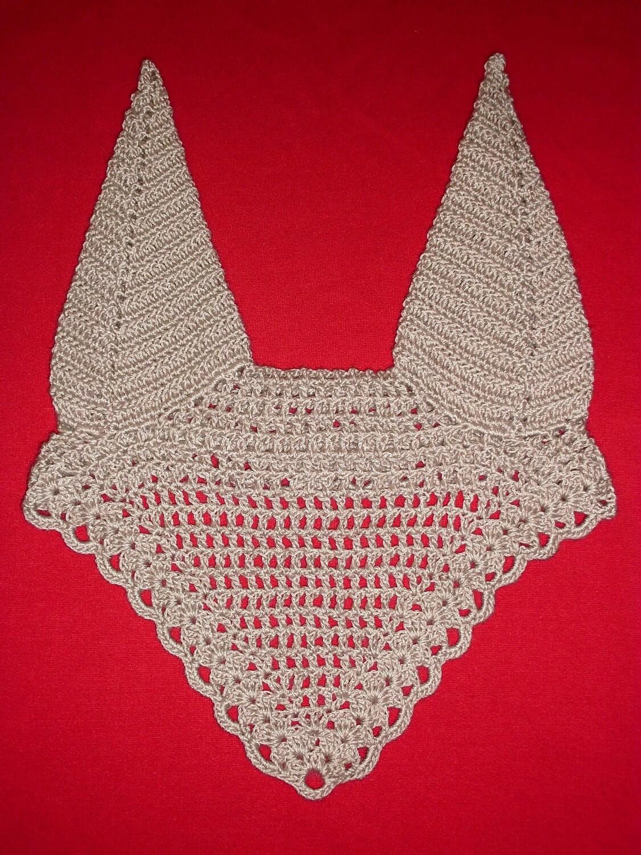 Horse Fly Bonnet Crochet PATTERN and Photo Tutorial PDF Ear
