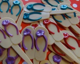 Flip Flop Cupcake Picks
