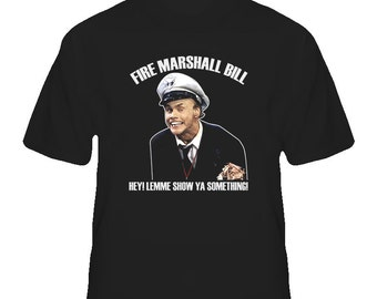 In Living Color Fire Marshall Bill Funny T Shirt