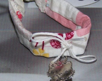 child bracelet entirely tissuavec charm
