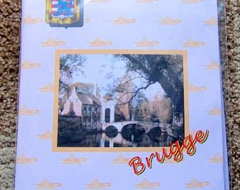 DE REIEN Counted Cross Stitch Kit from Brugge Belgium