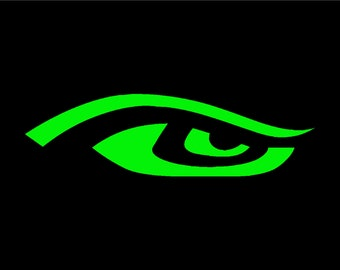 Seahawks EYE Vinyl Window Decal Pick your size and color