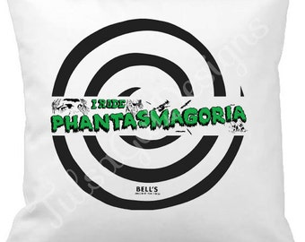 I Rode Phantasmagoria Pillow Cover