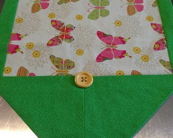 Butterflies in summer table runner