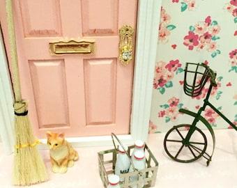 Milk Crate for Fairy Door, Tooth Fairy Door, Magical Fairy Door, Fairy Garden, Dollhouse Miniature Milk Crate, Fairy Door Kit,Ann Arbor Door