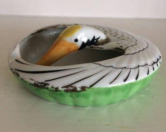 Vintage Snow Goose Ashtray /Trinket