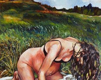 Birth Art Print - New Creation - Field Birth