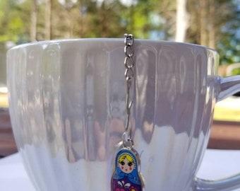 Matryoshka Tea Ball Strainer Tea infuser tea or coffee