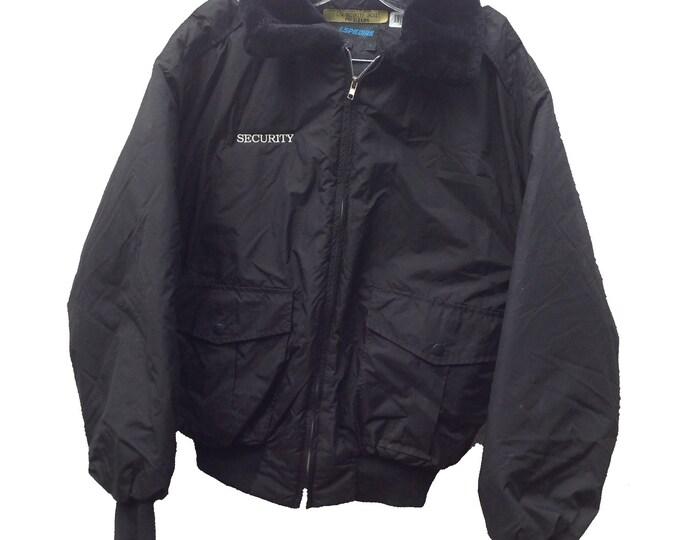 Medium Spiewak Security Jacket Black