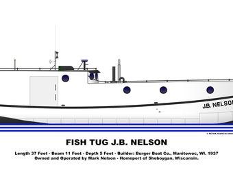 Great Lakes Fish Tug J.B. Nelson