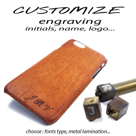 CUSTOMIZE with Initials or Text or LOGO monogram engraved laser personalize option