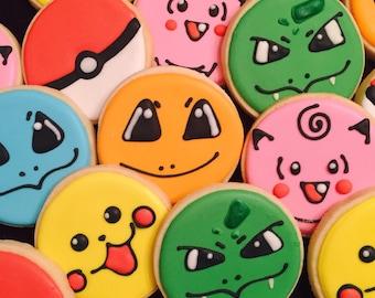 Pokemom Cookies, Pokemon favors, Pokemon party