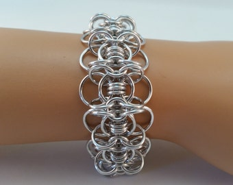 Celtic Gridlock Chainmaille Bracelet, Chain Maille Bracelet, Chainmail Bracelet, chainmaille bracelet