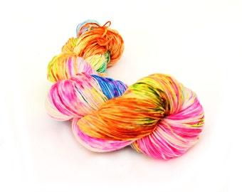 Hand dyed classic sock yarn - 100g