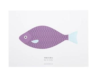 Print-A3 trout (Trout)