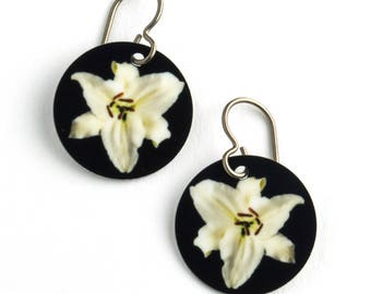 Lily Photo Earrings