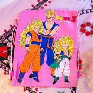 rare dead stock pink dragon ball z backpack bag