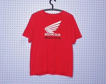 Vintage HONDA Motorcycle Racing T-shirt