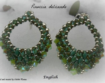 Earrings  Mini Rondo' (Tutorial graphics pictures only in English)