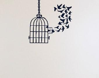 Free Birds Wall Vinyl